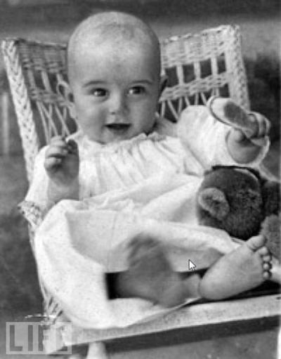 Lyndon Johnson, 6 Months Old, 1909