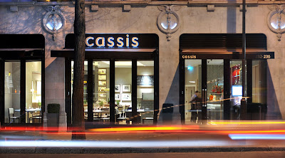 Exterior of Cassis Bistro, 232-236 Brompton Road, London SW3 2BB