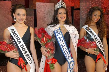 Mariana Figueiredo from Teresópolis was crowned Miss Rio de Janeiro Universe 2011