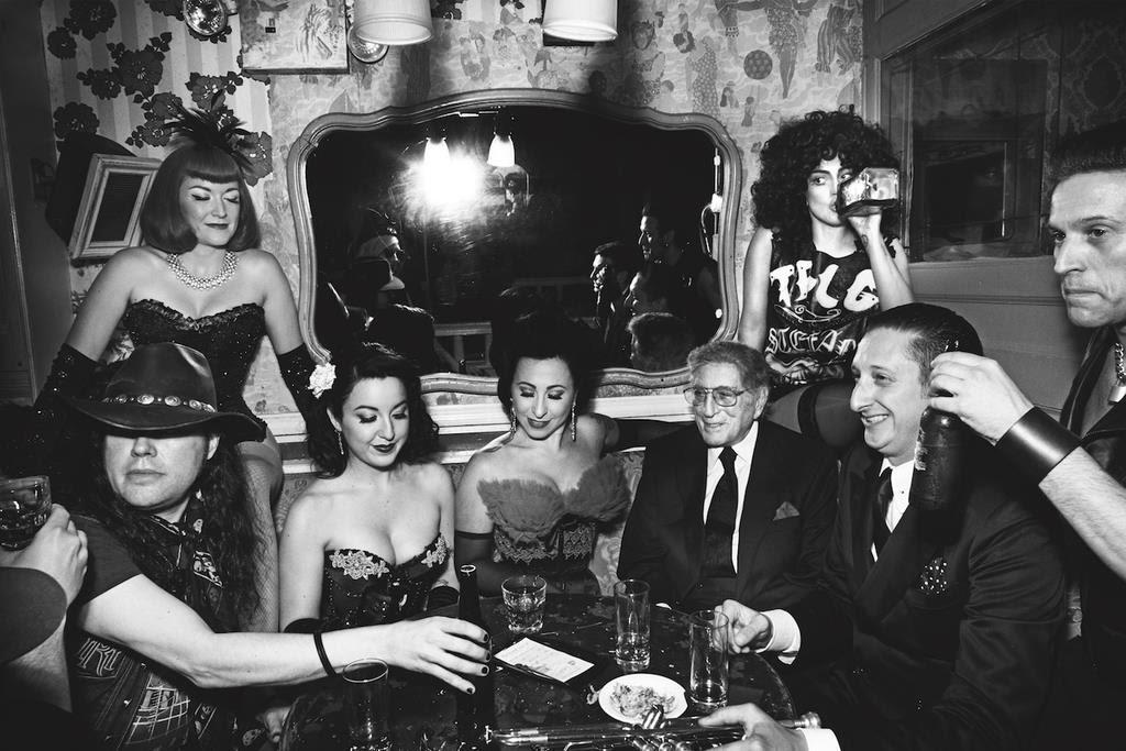 Lady Gaga y Tony Bennett para Cheek To Cheek