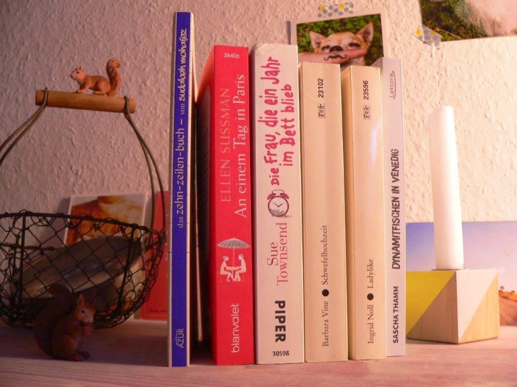 Welttag des Buches, mein Urlaubsstapel Bücher