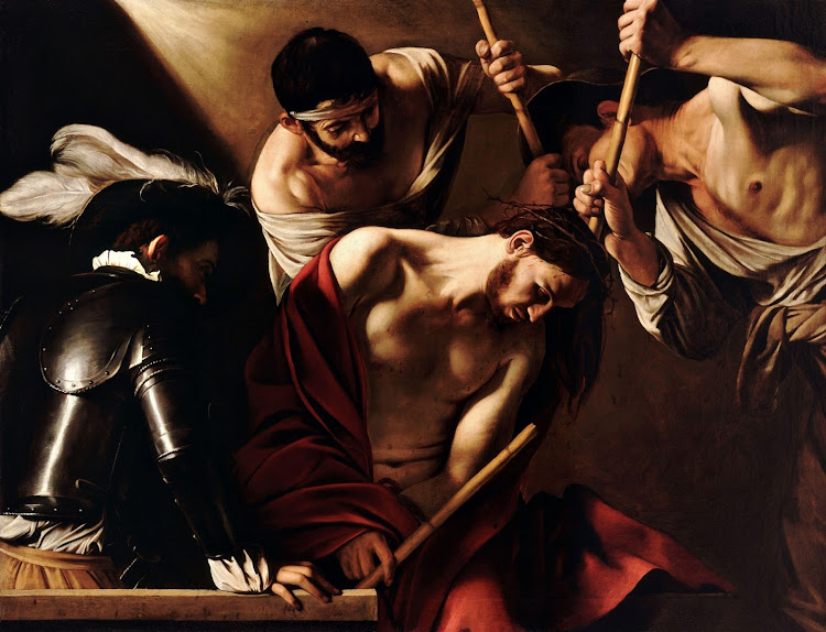 Michelangelo Merisi, called Caravaggio (1571-1610) - The Crowning with Thorns