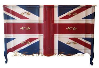 the french provencial union jack dresser