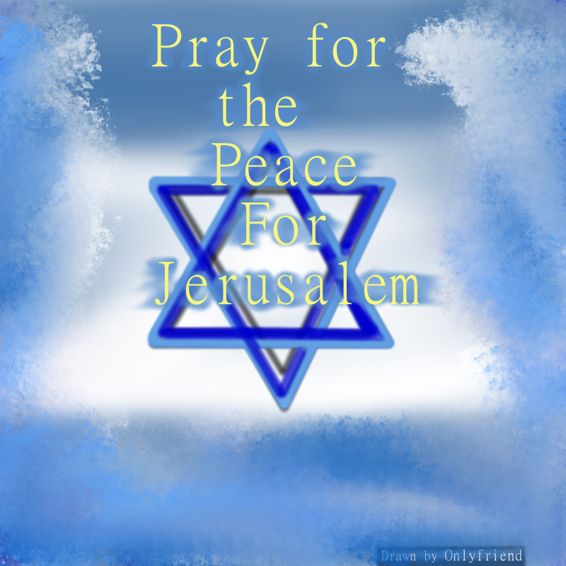 Praying for Israel - daily.