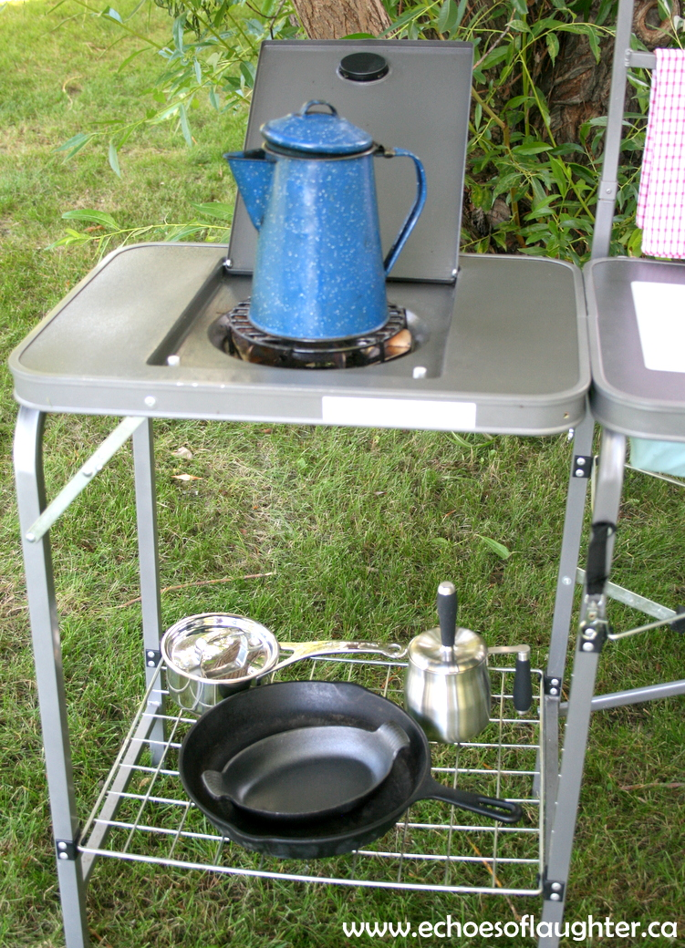 Organizing A Camping Kitchen Echoes Of Laughter
