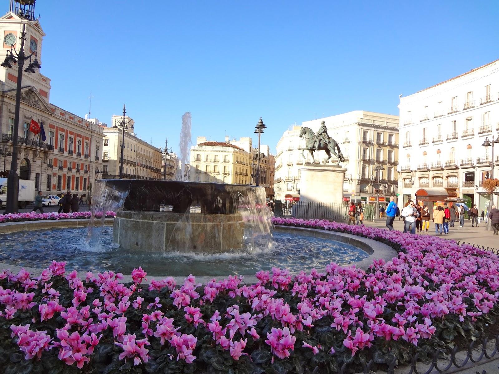 Eurotrip valencia style madrid for Sol plaza madrid