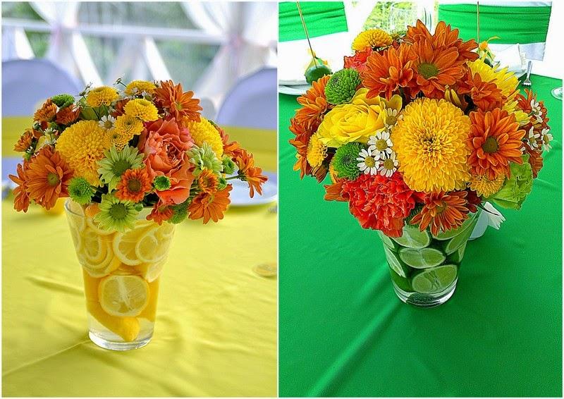 оформление цветами на свадьбу