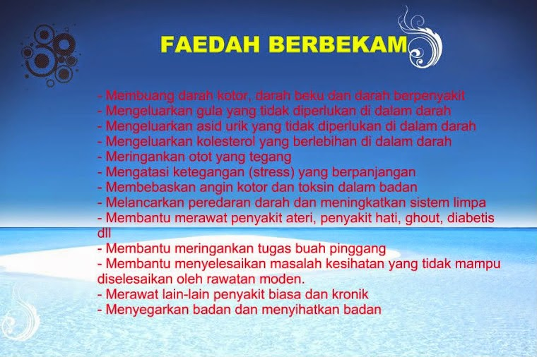 Faedah Bekam