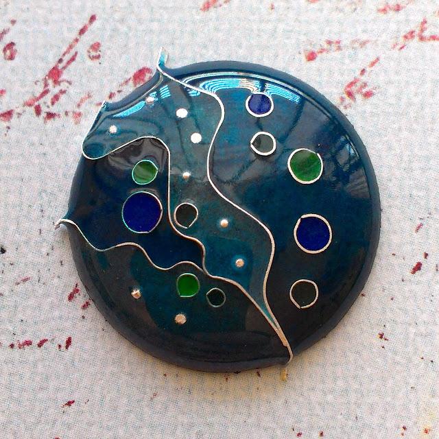 From enameling workshop at Harold Studio