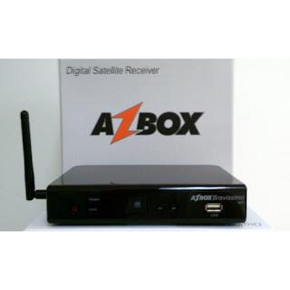 portal Azbox bravissimo WIFI Novo Soft 29/09