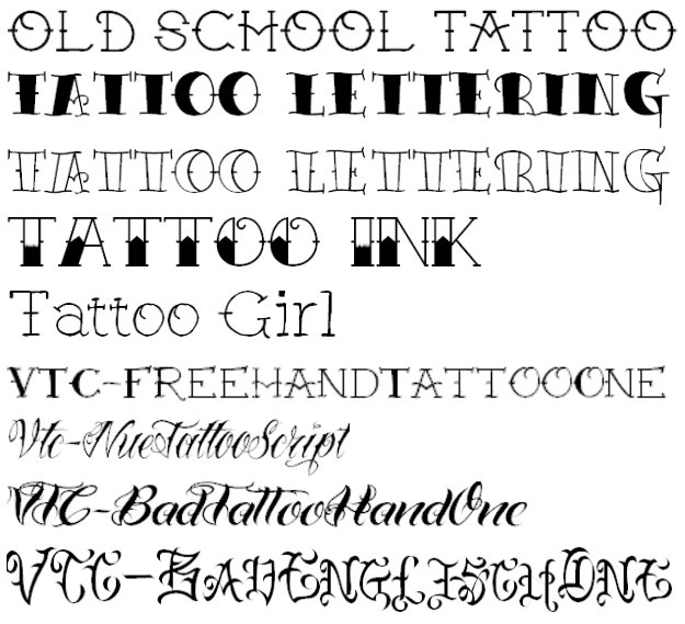 Categories Engaging Script Styles Tattoo