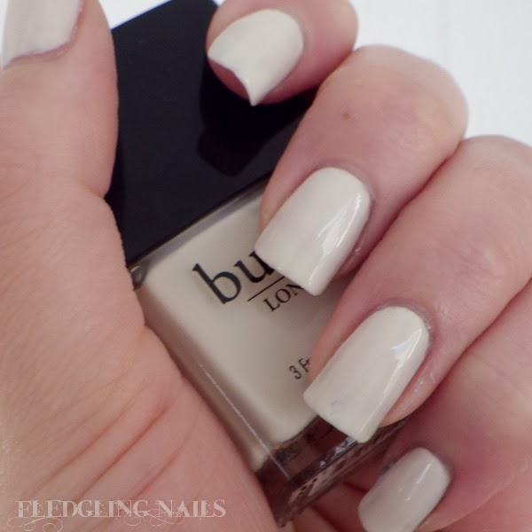 Fledgling Nails: Swatches and Reviews: Butter London - Cream Tea