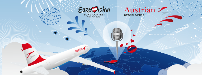 Austrian Airlines - official airline of Eurovision Song Contest 2015