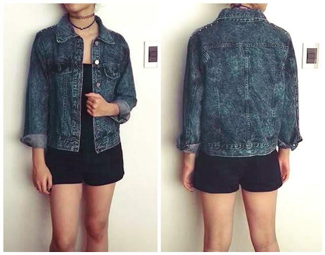 Look jaqueta Jeans