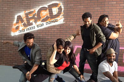 Hot Lauren Gottlieb along with Salman Yusaff Khan, Dharmesh Yelande, Prabhu Deva, Ganesh Acharya and director Remo D'Souza