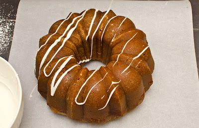 Eggnog Rum Bundt Cake