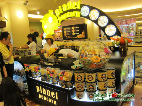 Selby's Food Corner: Planet Popcorn
