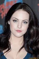 Elizabeth Gillies visits Planet Hollywood Times Square in New York