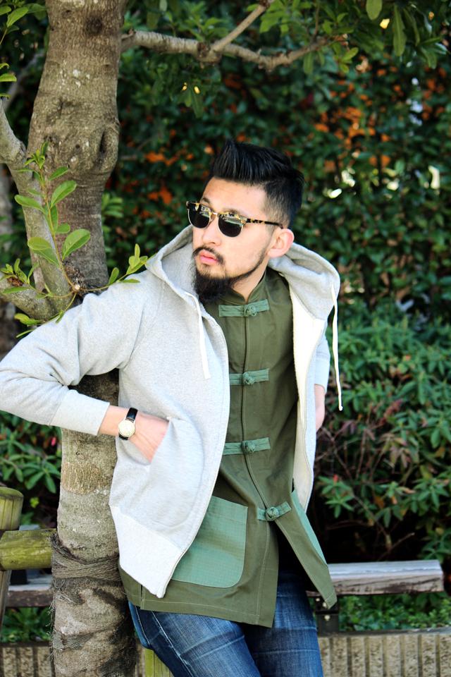 "Monitaly ""Mandarin Collar Jacket"" size 38 30,240yen"