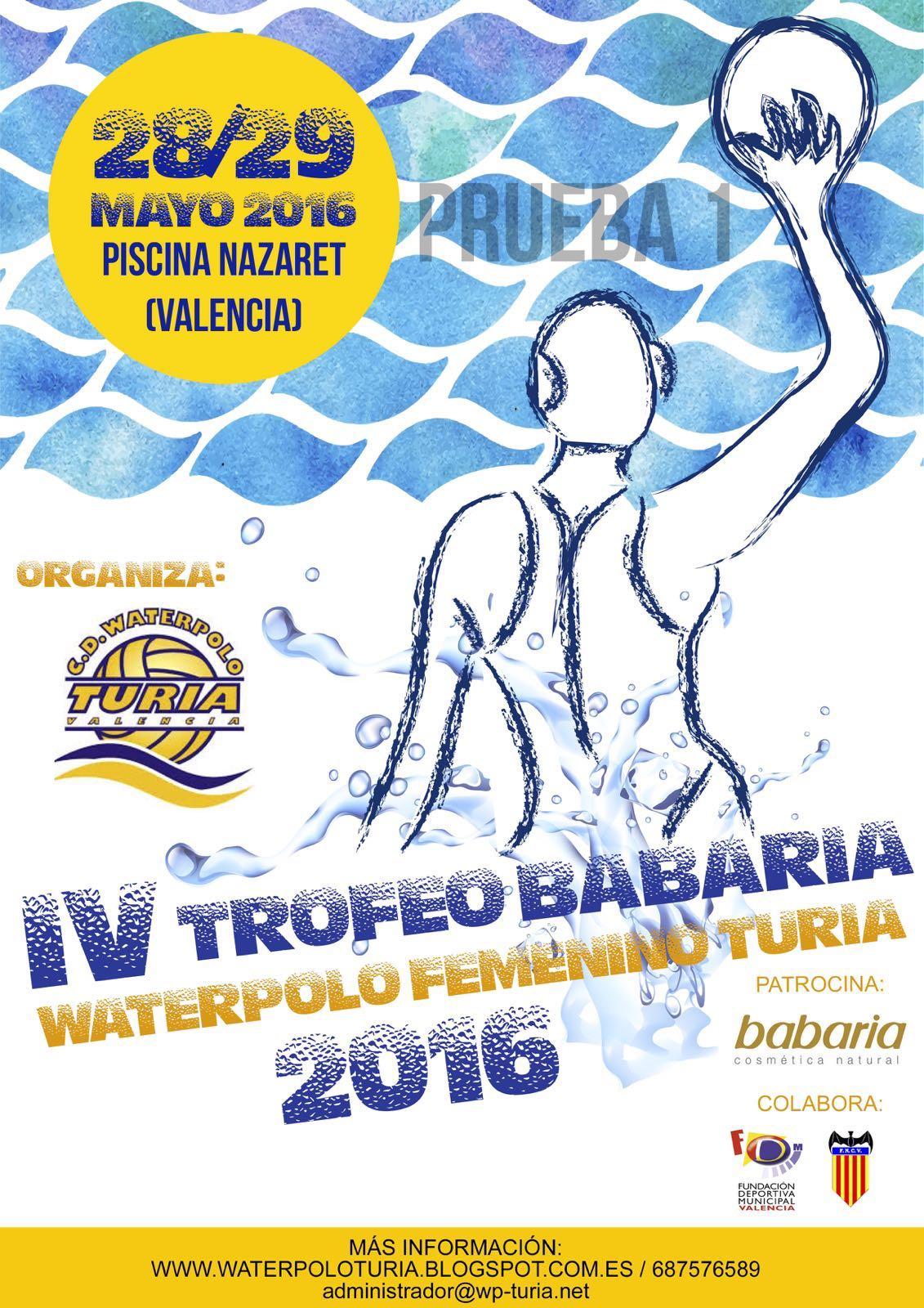 IV Torneo BABARIA Turia 2016