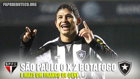 Elkesson marca em Ceni, que novamente falha na derrota do São Paulo para o Botafogo