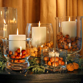 Nuts centerpiece