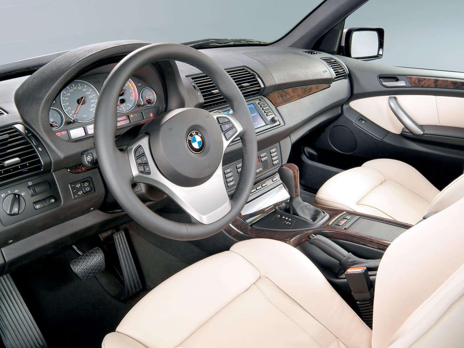 Automotive database bmw x5 e53 for Bmw x5 interior