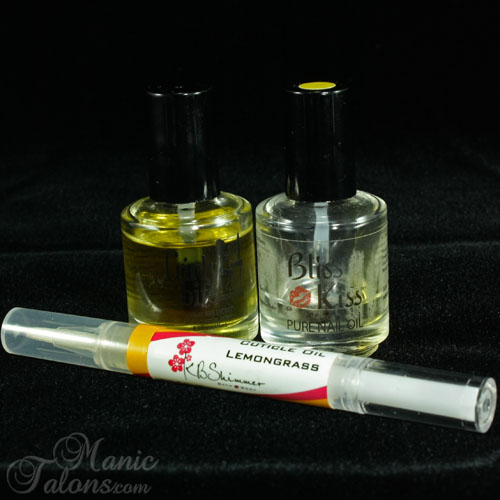 Manic Talons Favorite Cuticle Oils