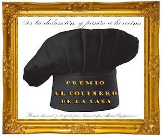 PREMIO AL COCINERO DE LA CASA.