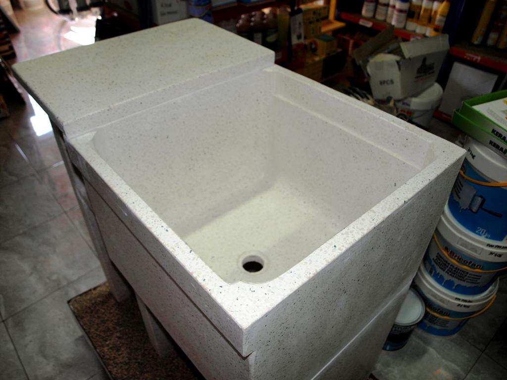 Materiales renau sl lavaderos y fregaderos de granito for Lavadero medidas