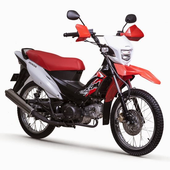 Honda XRM125 Dual Sport Fighting Red