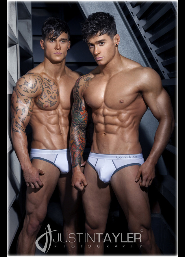 The Harrison Twins, Owen and Lewis • Male Models