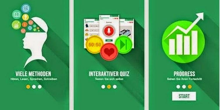 Meinkauf aplikasi yang membantu untuk belajar bahasa jerman