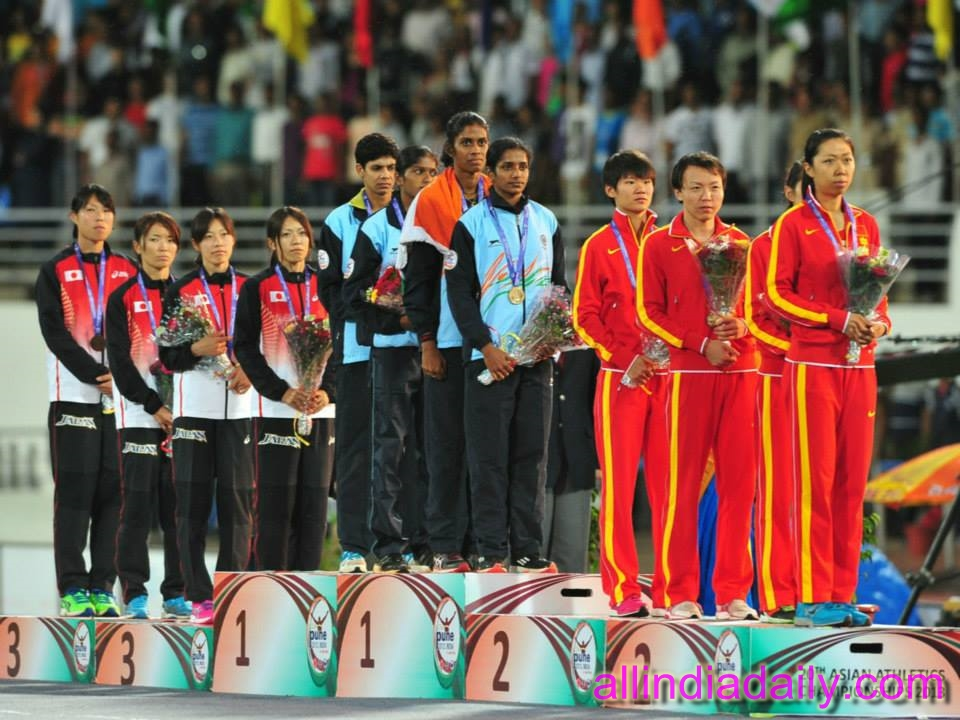 M R Poovamma, Tintu Luka, Anu Mariam Jose and Nirmala
