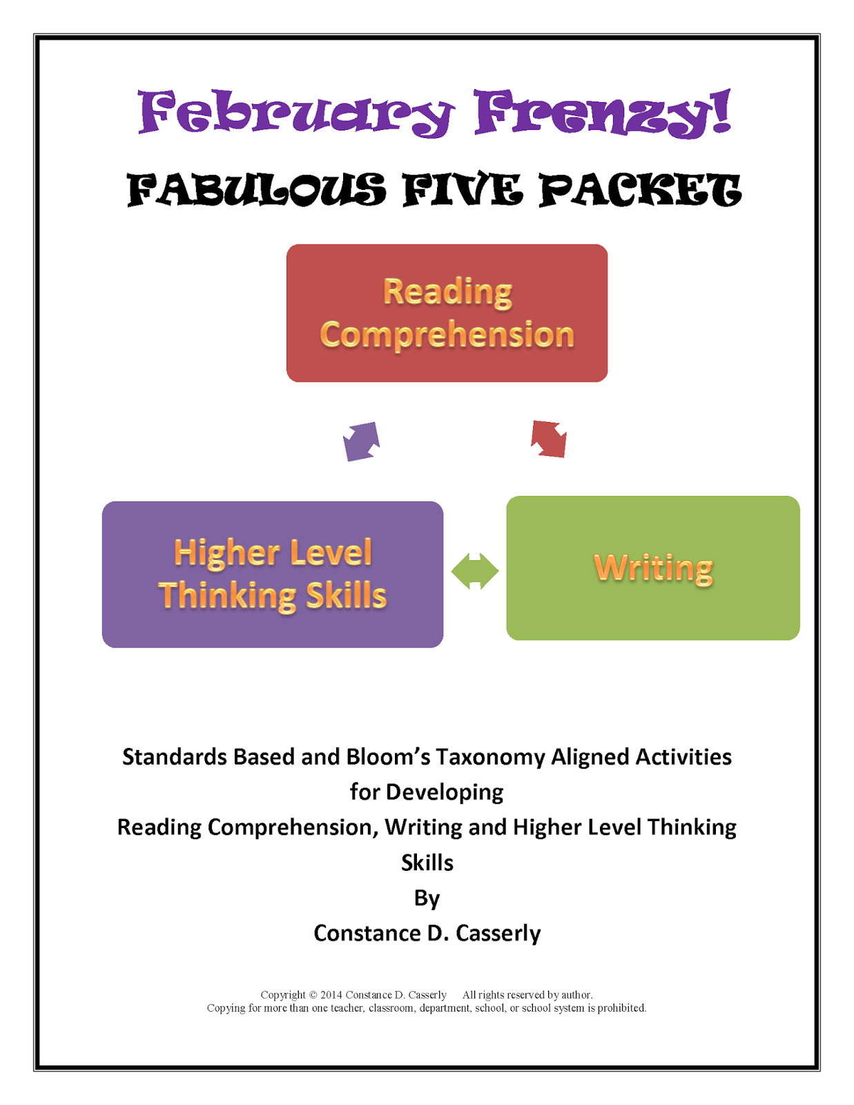 February Frenzy: Fabulous Five Packet