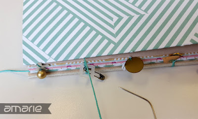 einfach amarie - coptic stitch book binding