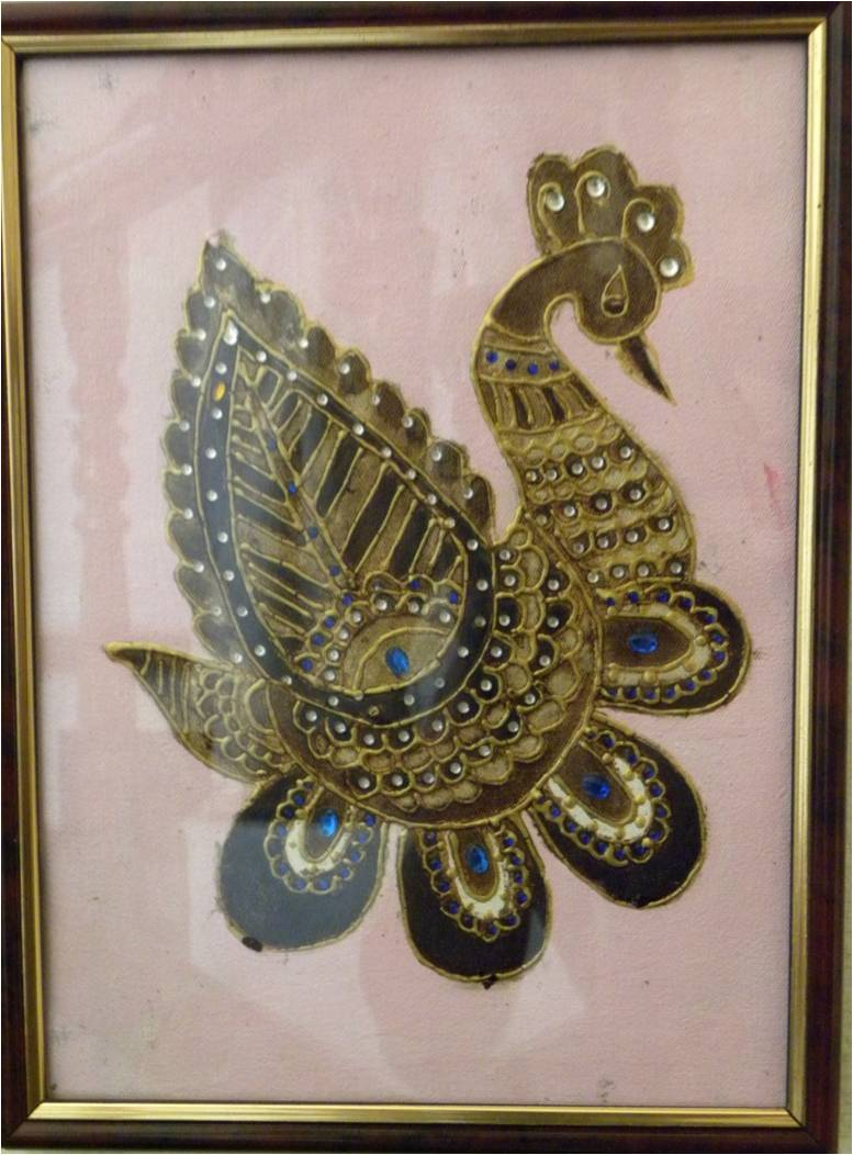 Coffee painting sheeja 39 s handicrafts for Coffee painting designs