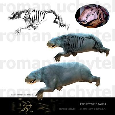 Desmostylia Paleoparadoxia