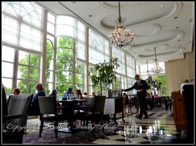 Restaurant la Véranda Trianon Palace Versailles