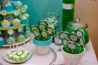 Party Hat: Candy Buffet for Boys