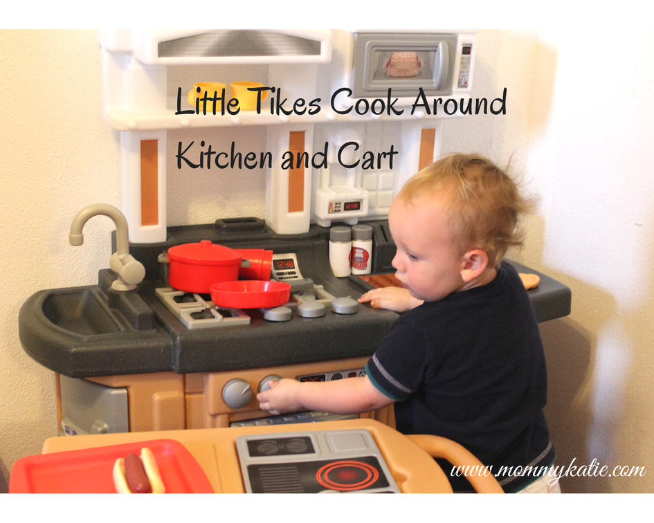 Fun for Little Ones with the Little Tikes Cook Around Kitchen & Cart Little Tikes Cook Around Kitchen And Cart Html on
