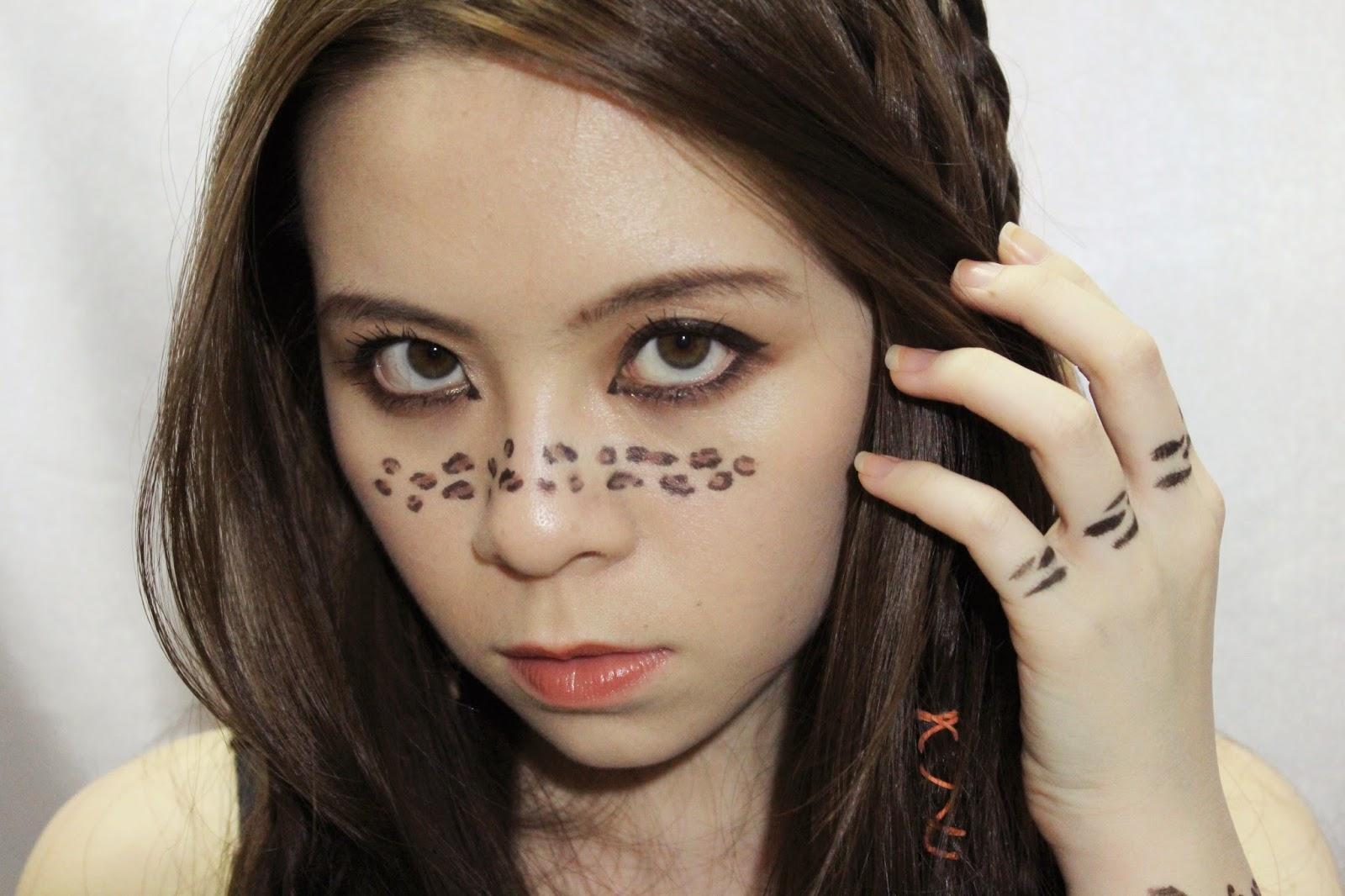 leopard prints, animal prints, zebra prints, makeup, instinct, Avon