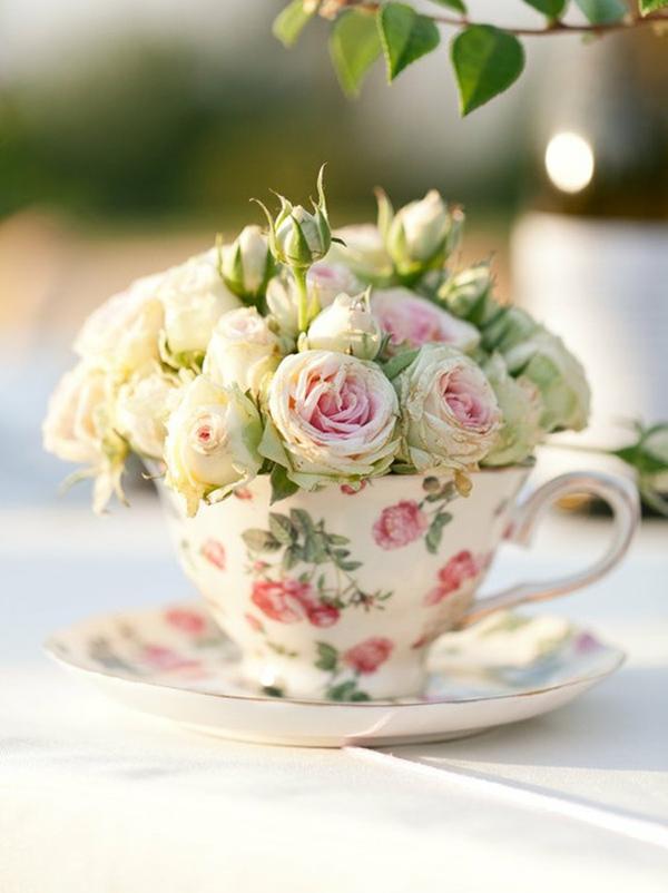 Paso a paso: Crea una torre de flores para tu jardín Casa - Fotos De Flores En Jardines
