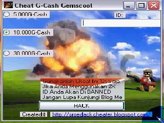 Cheat G-Cash Gemscool Generator 2012-2015 (Sroedack Cheater)