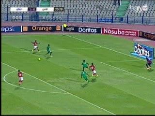 اهداف مباراة الاهلى والقطن الكاميرونى 1-1 نصف نهائى كاس الكونفدرالية 28-9-2014