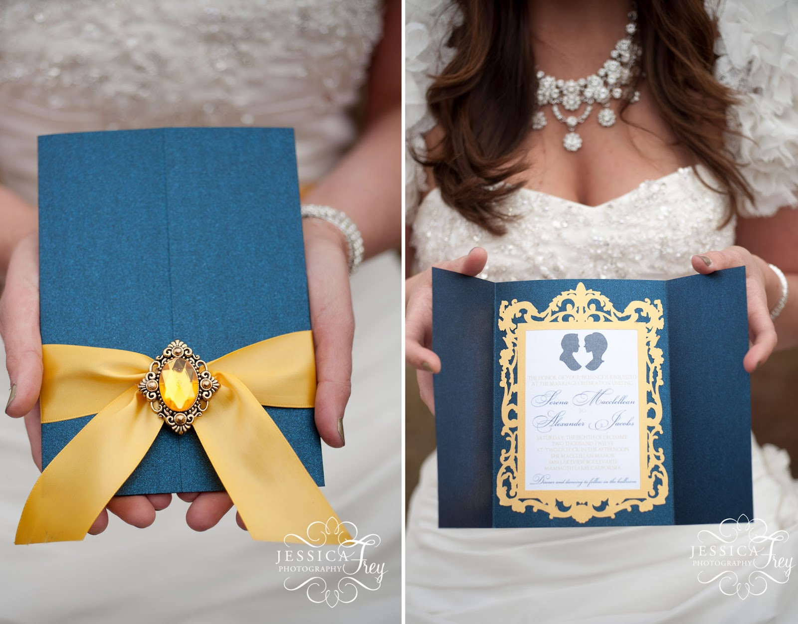 Disney Inspired Wedding Invitations with luxury invitations template
