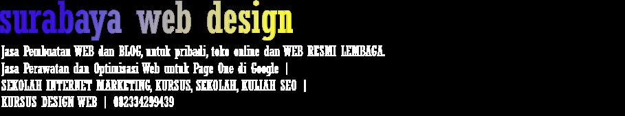 surabaya web design