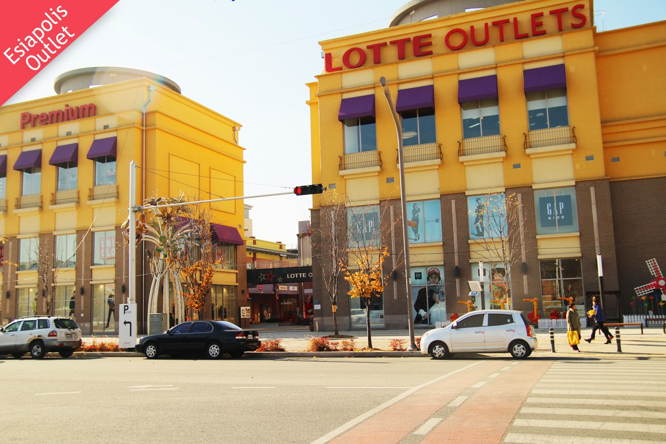Shopping Areas in Daegu-Lotte Esiapolis Outlet, Dong-gu