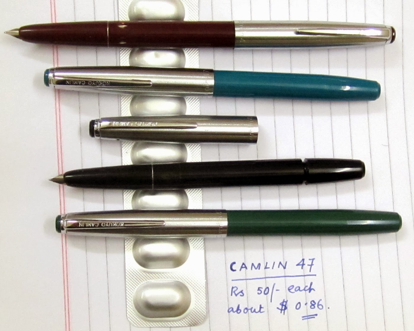 Fountain Pen Cost Fountain Pens at Incredibly