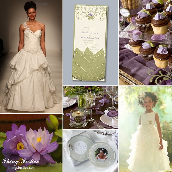 Fairy Tale Wedding Inspiration The Princess Amp The Frogs Tiana